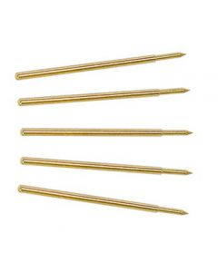 TA064 2.5 mm oscilloscope probe spring contact tips, pack of 5