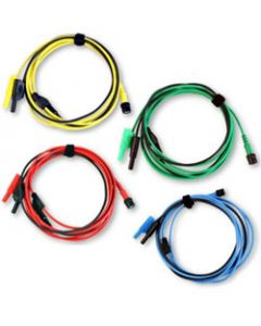 Premium Test Lead: Set of 4 leads BNC to 4 mm, 3 m PP718