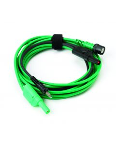 Premium Test Lead: BNC to 4 mm, 5 m -Green TA201