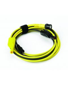 Premium Test Lead: BNC to 4 mm, 5 m -Yellow TA202