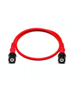 Insulated BNC to BNC cable - 0.5 m-Red-TA244-Red