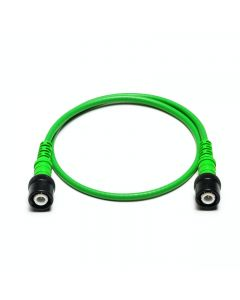Insulated BNC to BNC cable - 0.5 m-TA245-Green